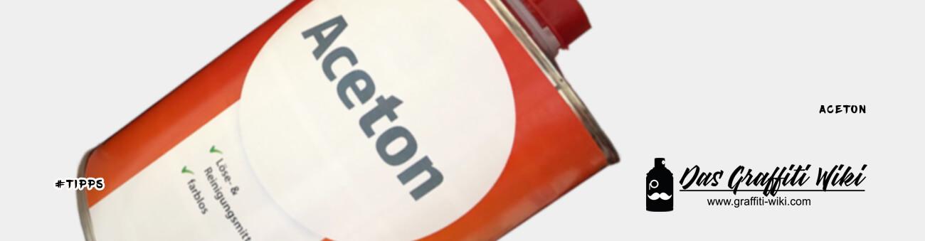 Aceton Reiniger zum Reinigen