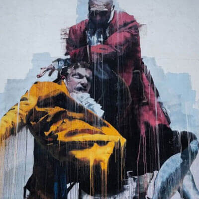 Graffiti Künstler Harrington