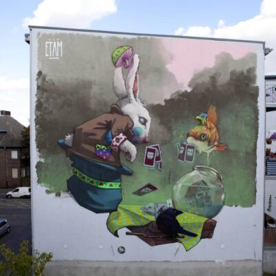 Etam - Makao, All You Can Paint, Halle, Germany, 2012