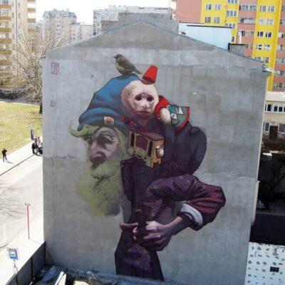 Etam - Monkey Business, Warsaw Poland, 2013