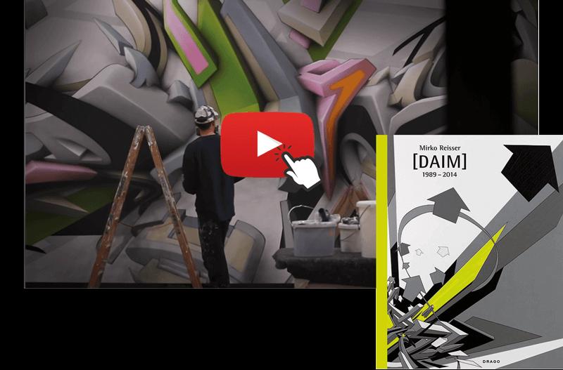 Graffiti Buch - Daim das Gesamtwerk