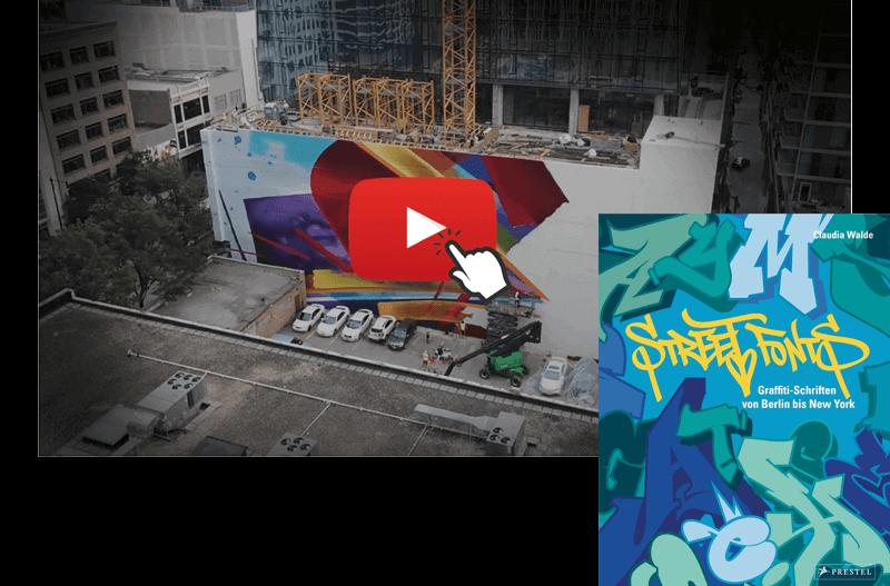 MadC und ihr Buch ueber Graffiti