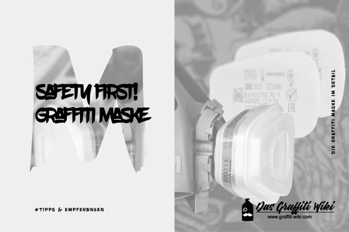 Abbildung einer Graffiti Maske