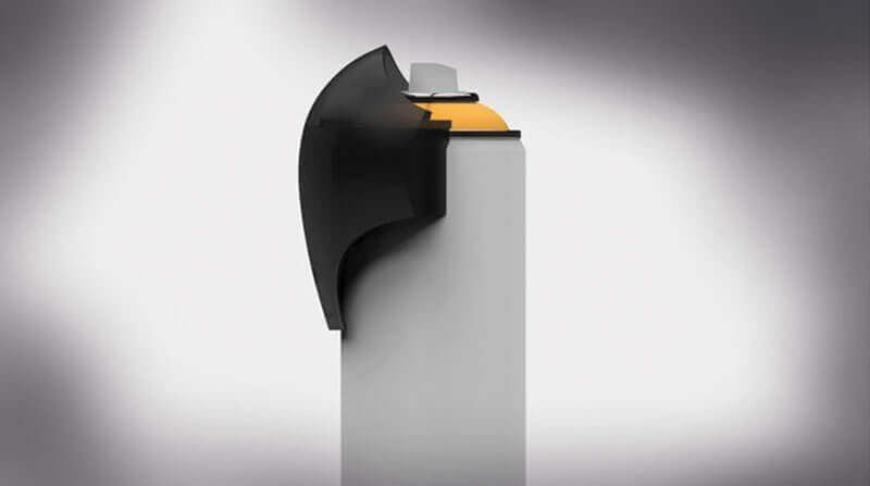 Ein Cap aus einem 3d Drucker