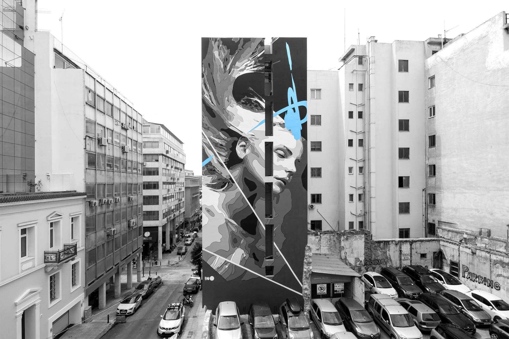 INO - Graffiti-Kuenstler - Piraeus
