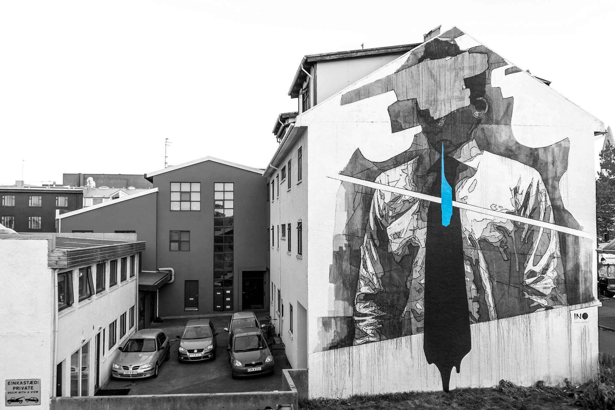 INO - Graffiti-Kuenstler - Reykjavik