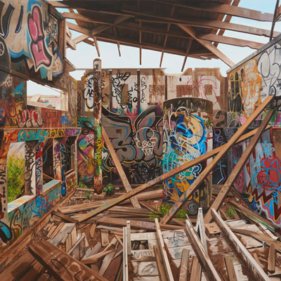 Graffiti-Künstlerin Jessica-Hess