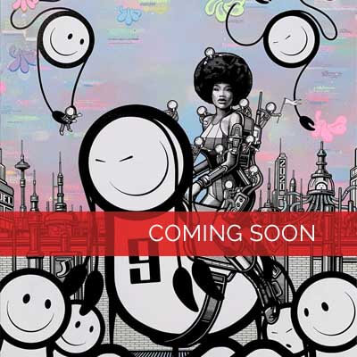 Graffiti-Künstler The- London-Police vorgestellt