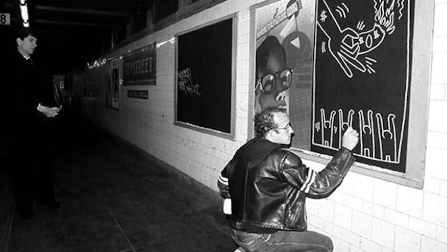 Street Art Geschichte von Keith Haring