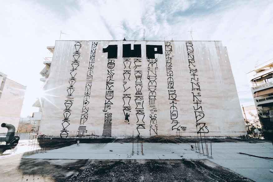 Street-Art mit Roll-On von 1UP